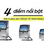 4 thế mạnh của máy in phun date Videojet