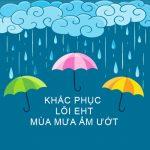 Mùa mưa đang đến, cẩn thận với lỗi nguồn EHT của máy in date